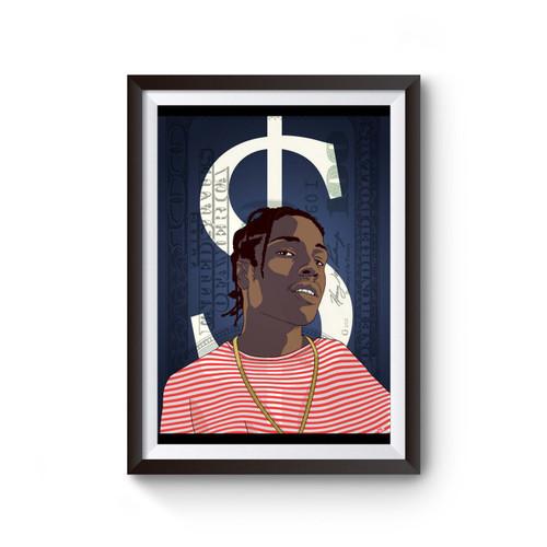 Asap Rocky Hip Hop Music Poster