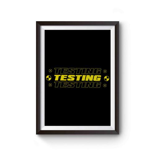 Asap Rocky Testing Poster