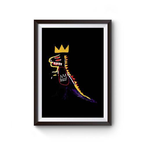 Basquiat Dinosaur Inspired Poster