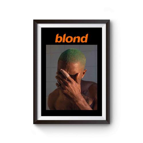Blond Frank Ocean Poster
