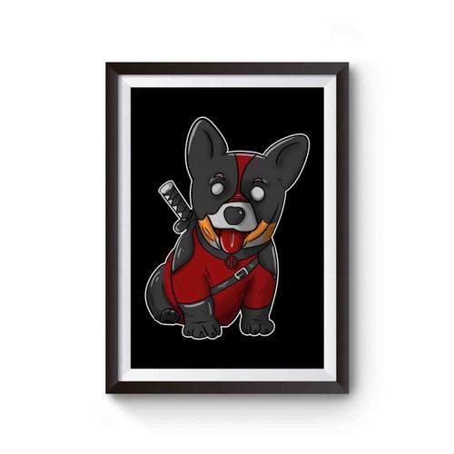 Corgipool Dogpool Deadpool Movie Poster