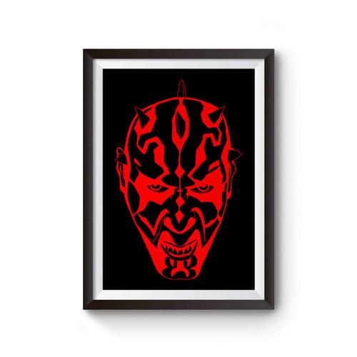 Darth Maul Sith Lord Star Wars Poster