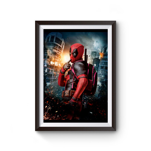 Deadpool Feminim Poster