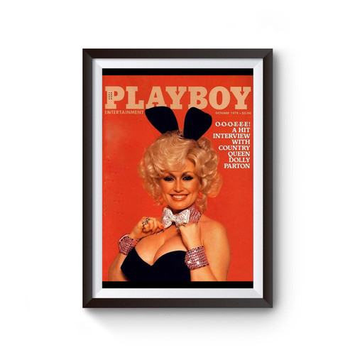 Dolly Parton Playboy Entertainment Poster