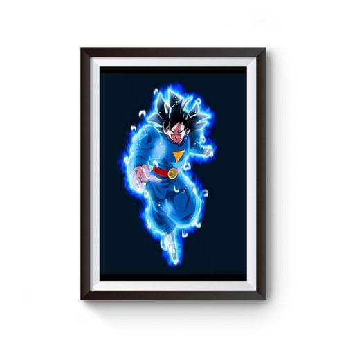 Dragonball Heroes Goku Ultra Instinct Poster