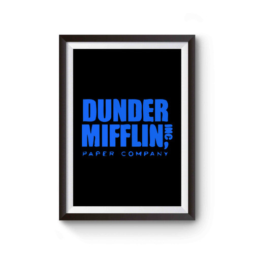 Dunder Mifflin Inc Paper Company The Office Poster
