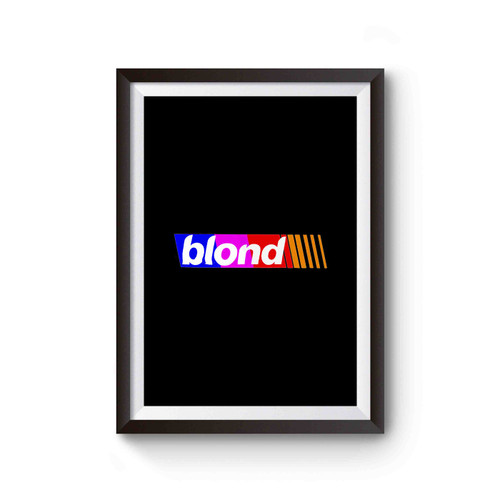 Frank Ocean Blond Blonde Poster