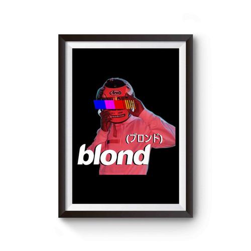 Frank Ocean Blond Helmet Poster