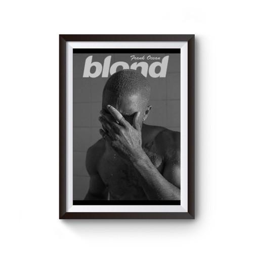 Frank Ocean Blond Music Poster