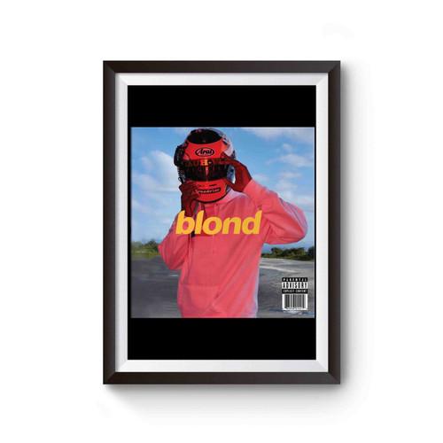 Frank Ocean Blonde Cover Poster