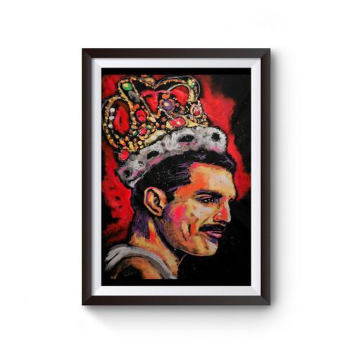 Freddie Mercury Queen 1 Poster