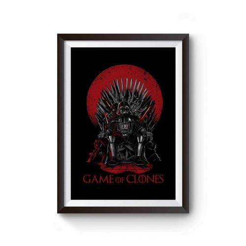 Game Of Thrones Darth Vader Mashup Parody Poster