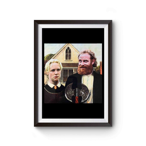 Game Of Thrones Tormund And Brienne Westeros Gothic Poster