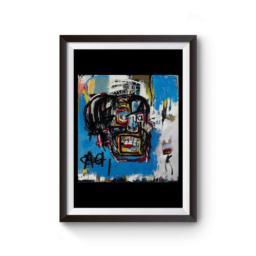 Jean Michel Basquiat Artist Graffiti Icon Art Genius Poster