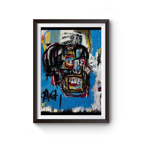 Jean Michel Basquiat Artist Graffiti Icon Art Poster