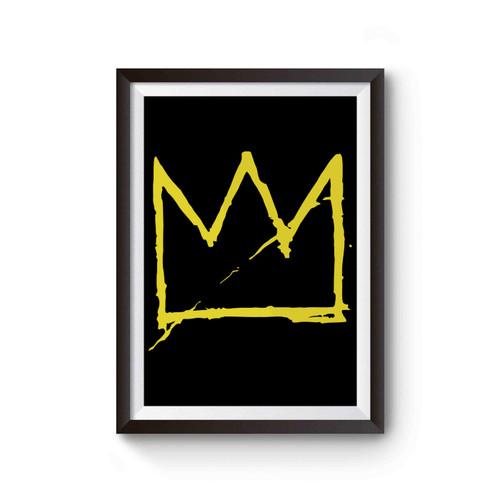 Jean Michel Basquiat Crown Poster