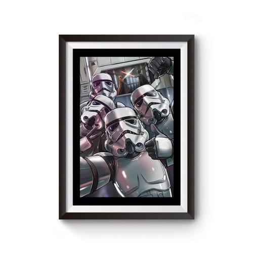 New Stormtrooper Selfie Comedy Star Wars Funny Poster
