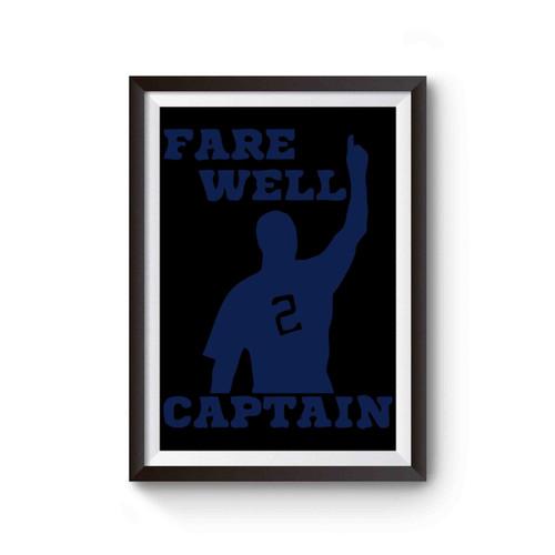Ny Yankees Derek Jeter Farewell Captain Poster