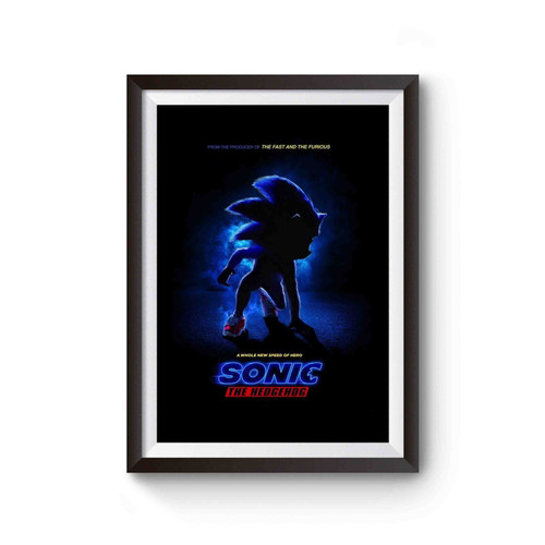 Sonic The Hedgehog Poster Poster