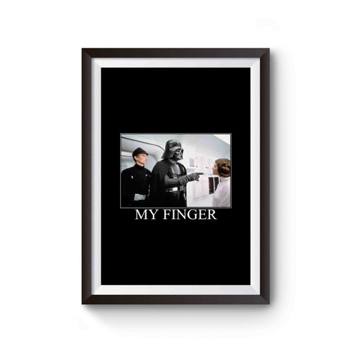 Star Wars Pull My Finger Funny Poster