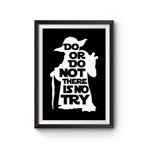 Star Wars Yoda Quote Poster