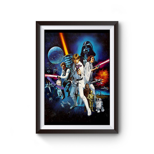 Star Wars Poster Movie Poster