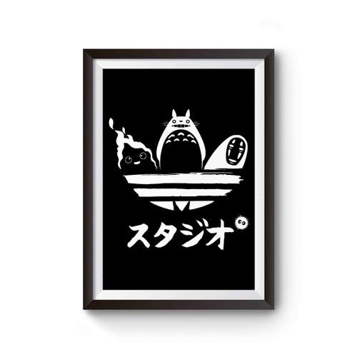 Studio Ghibli Sports Logo Poster