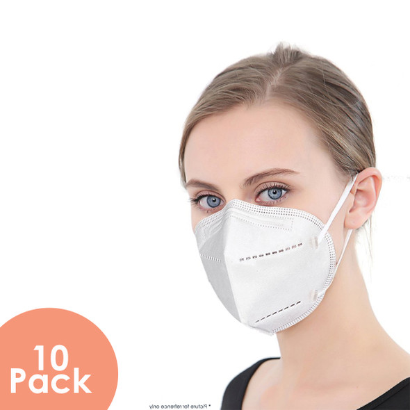 KN95 respirator face mask 10 pack