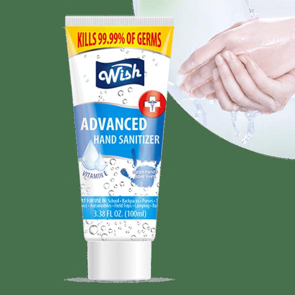 Wish Hand Sanitizer 3.38oz Tube with Vitamin E