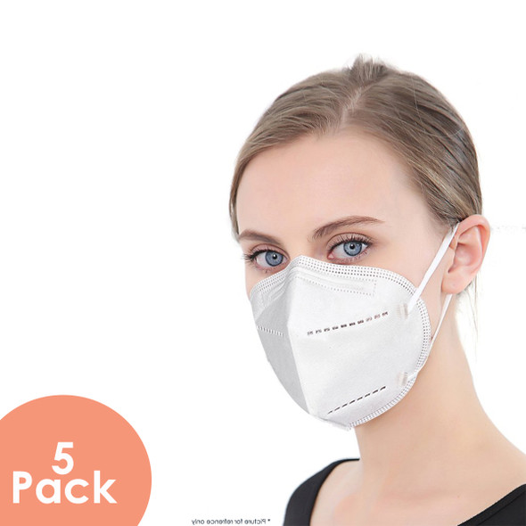 KN95 respirator face mask 5 Pack