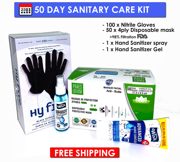 50 Day Sanitary Care Kit