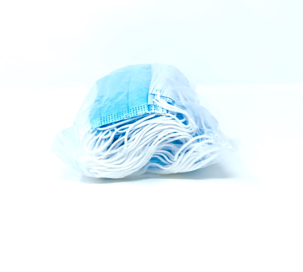 3Ply-Single Use Mask - 50 bundle/No Box