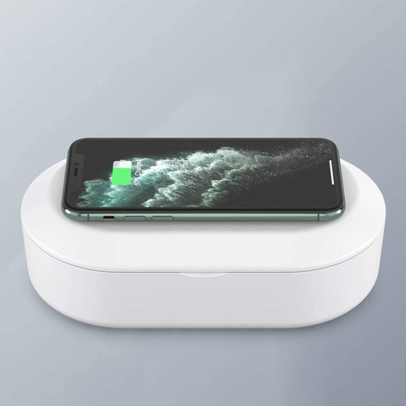 UV Sanitizing Box–with Aroma Diffuser & Wireless Charger