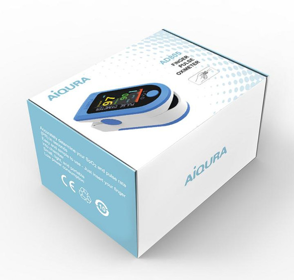 Fingertip Pulse Oximeter-Digital AD-805 by AiQURA