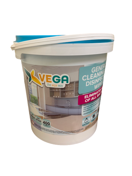 VEGA ALL PURPOSE CLEANING AND DISINFECTING WIPES  (400 Count Value Pack)
