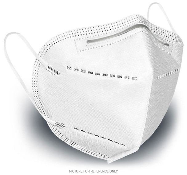 KN95 respirator face mask. Manufactures in an CE and FDA Certificated facility. Model 9501 Test Standards : EN 149:2001 + A1:2009