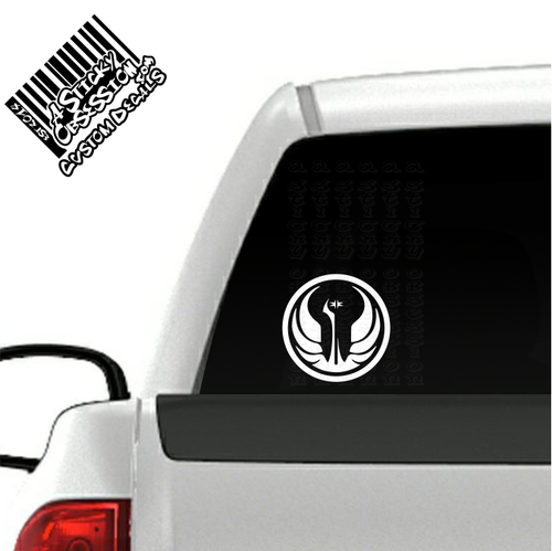 Old Republic decal on truck