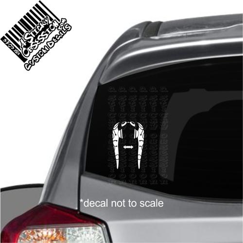 Hera Syndulla Minimalist Decal on car