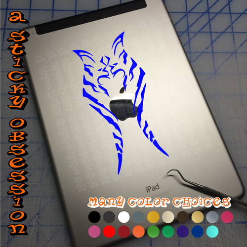 Star Wars Rebels Ahsoka Tano in blue on iPad