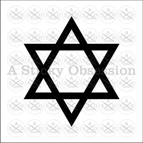 Star of David Jewish star