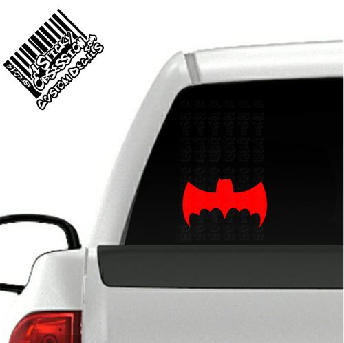 1966 Batmobile Batman Decal on truck