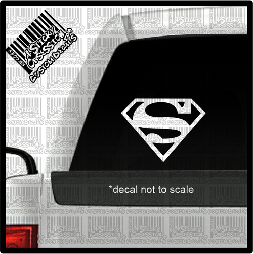 Superman Decal on truck