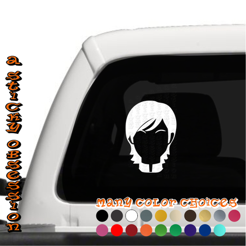 Sabine Wren Minimalist Decal on truck