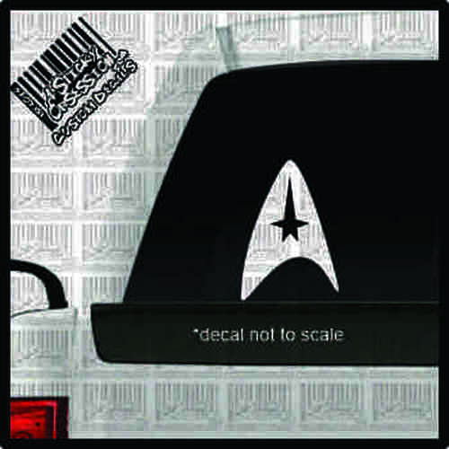 Star Trek Star Fleet Custom Decal