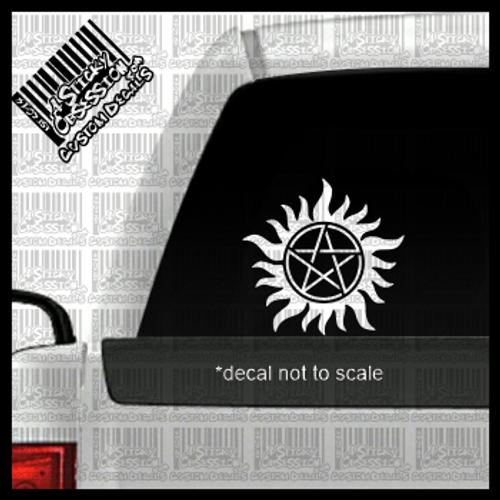 Supernatural Anti Possession Custom Decal
