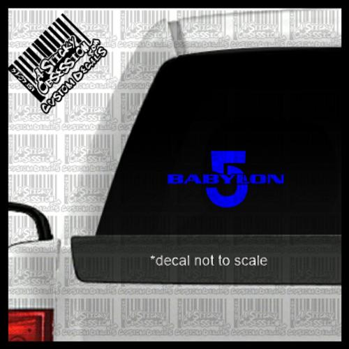 Babylon 5 decal on truck