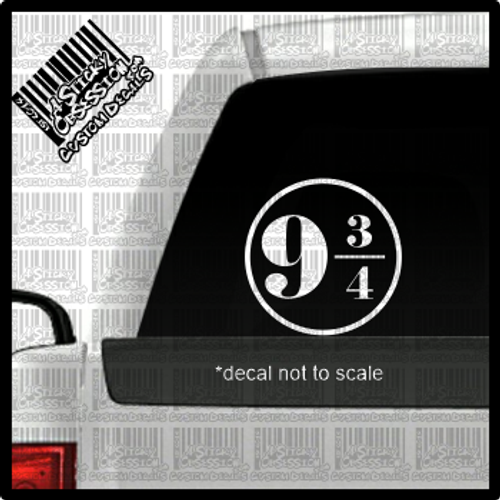 Platform 9 and three quarters decal on truck