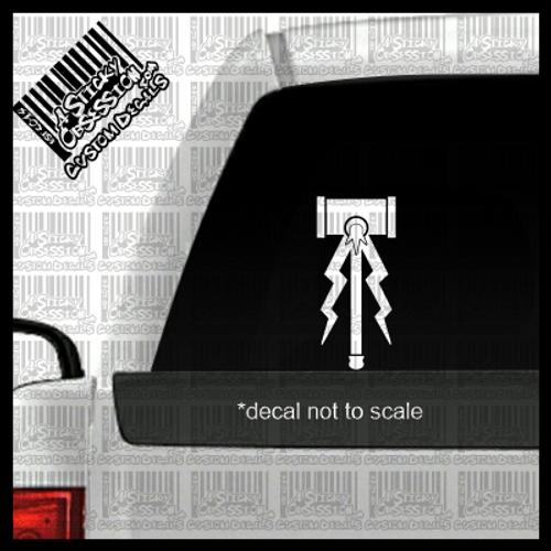 Hammers of Sigmar Stormcast Eternals decal on truck