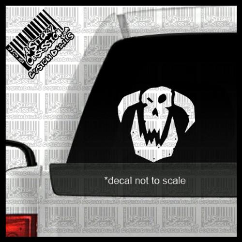Age of Sigmar Orruks Custom Decal on truck