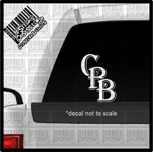 CBB letter logo on truck